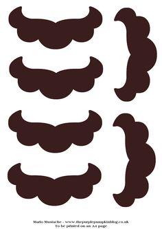 Mario Mustache template
