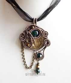Image result for wire wrapped pocket watch