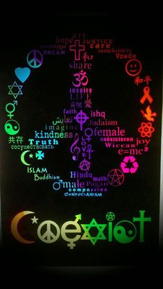 Love one another~✿~give peace a chance~ More