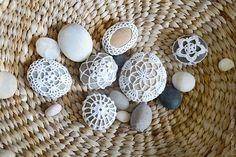 My handmade life: crochet stones