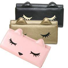 Rakuten: Lady's cat wallet