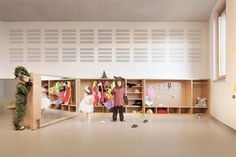 MoDus Architects · Preschool, Kindergarten and Family Center