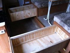 Who wants better storage under their dinette?