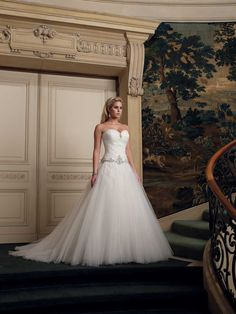 Wedding dresses and bridals gowns by David Tutera for Mon Cheri for every bride at an affordable price  |  Wedding Dresses  |  Style #211246 - Samira