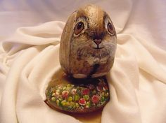 Rock bunny front- CACRAFTS