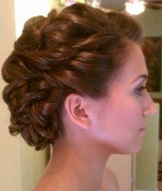 gorgeous makeup and hair