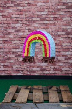 Rainbow Piñata. Exclusively at La Piñata Party. El Segundo, CA.