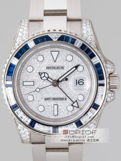 ロレックス GMTマスターII スーパーコピー116759SA サファイヤ・ダイヤベゼル ラグダイヤ 全面ダイヤ 商品番号: rolex0344 市場価格: 23100 円 販売価格: 21000 円 在库数: 有