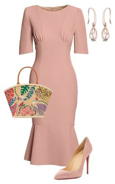 """""""Untitled #764"""" by angela-vitello ❤ liked on Polyvore featuring Canvas by Lands' End, Christian Louboutin and Tory Burch"""