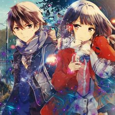 Someone tell me what anime is this. I have a bet to win <-- I bet it's Masumune kun no revenge (my spelling is horrible and I don't have money, I'm just betting my pride) Anime Love Couple, Manga Couple, Anime Couples Manga, Cute Anime Couples, Fan Anime, Anime Art, Kawaii Cute, Kawaii Anime, Adagaki Aki