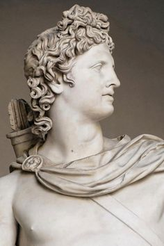 The Apollo Belvedere is a celebrated marble sculpture from Classical Antiquity. Greek Gods And Goddesses, Greek And Roman Mythology, Greek God Of Light, Apollo Aesthetic, Apollo Greek, Apollo Statue, Apollo Belvedere, Carpeaux, Pagan Festivals