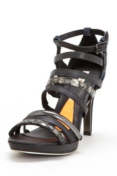 Diesel Jungle Belts Camo Platform Sandal