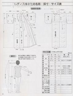Do it yourself yukata translated Motif Kimono, Kimono Sewing Pattern, Pattern Drafting, Yukata Kimono, Kimono Japan, Japanese Yukata, Japanese Outfits, Sewing Clothes, Diy Clothes