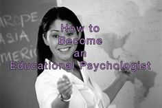 How to become an educational psychologist and what is involved in the different roles available.   http://psychyogi.org/articles/how-to-become-an-educational-psychologist/