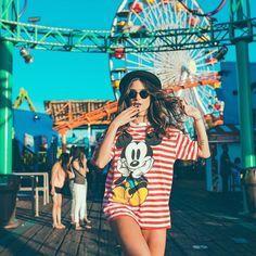 Só quero o amor das grandes paixões  Ser como crianças no parque de diversões Aquele amor que em menos de um instante Faz a vida girar numa roda gigante...  @luizaferraz  #CaliforniaGirl #californiaDreaming #LosAngeles #SantaMonica