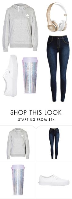 """""""morning"""" by luisaelena-s on Polyvore featuring adidas, ban.do, Vans, Beats by Dr. Dre, women's clothing, women's fashion, women, female, woman and misses"""