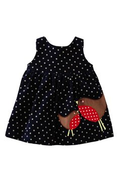 Mini Boden Appliqué Dress (Baby Girls) | Nordstrom
