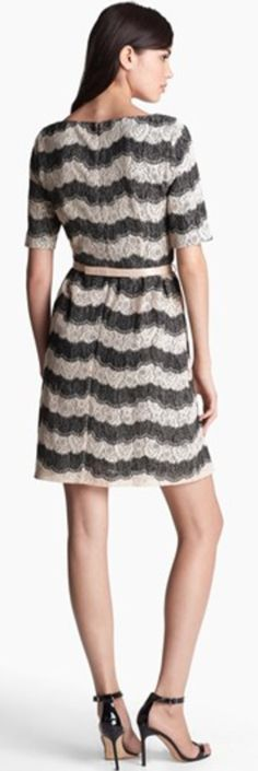 lace fit & flare dress  http://rstyle.me/n/dfmpjnyg6