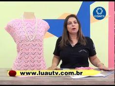 Vida com Arte | Blusa charme em tricô por Cláudia Maria - 29 de Janeiro de 2015 - YouTube