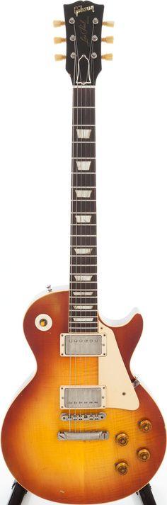 1960 Gibson Les Paul Standard Sunburst Serial # 0 1494