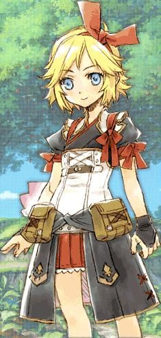 Elena - Rune Factory: Tides of Destiny/Oceans