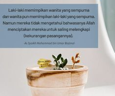 Lelaki dan wanita diciptakan untuk saling melengkapi kekurangan Nice Quotes, Best Quotes, Allah, Cute Quotes, Handsome Quotes, Best Quotes Ever, Quality Quotes, God, Allah Islam