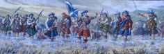 The Highland charge (painted by Chris Gregg)