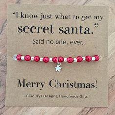 Secret Santa Funny Secret Santa Gift For Her Christmas