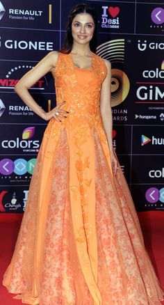 Divya Khosla Kumar | Here Is What Celebrities Wore To The GIMA Awards 2016