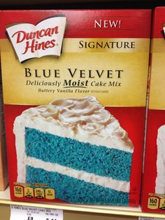Somebody call Percy! We have found blue cake!!!
