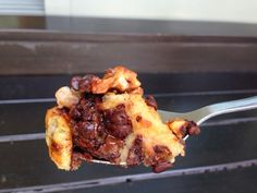 Lulumummy: Air fryer eggless chocolate banana bread pudding