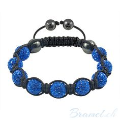 Shamballa Armband Blau - http://bramel.ch/accessoires-shop/armband/shamballa-armband-blau/ http://bramel.ch/wp-content/uploads/2013/10/Shamballa-Armband-handgemacht-gebetsarmband-Schutzaura-Schmuckstueck-blau-600x600.jpg