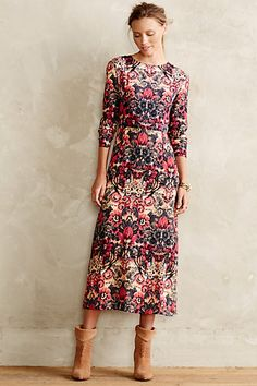 Selma Maxi Dress. Anthropologie.