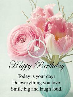 Wishing You a Happy Free Happy Birthday Cards, Happy Birthday Today, Birthday Greeting Cards, Birthday Fun, Birthday Greetings, Birthday Reminder, Birthday Posts, Birthday Calendar, 100 Free