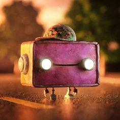 @zigor for more  art | #delightedvisual |  Follow @delightedvisual for  #inspirations       #visual #moreart #smile #amazed #inspiretocreate #inspire #art | #artist #instagood #follow #drawing #artoftheday #artistsoninstagram #instaart #fun #funny #cute #instalove #design #digitalart #love #instalike #3D #robot #badrobot