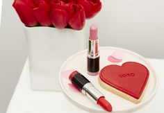 Lipstick + Cookie from a Kissing Booth Valentine's Day Party via Kara's Party Ideas | KarasPartyIdeas.com (10)