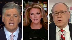 """""""Greater exposure to Hannity relative to Tucker Carlson Tonight increased the number of total cases and deaths in the initial stages of the coronavirus pandemic,"""" researchers say. Trish Regan, Fox News Anchors, Video Team, Fox News Hosts, Mortality Rate, Sean Hannity, Tv Station, Political News, Political Issues"""