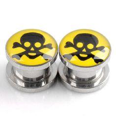 PiercingJ 2pcs Gauge Stainless Steel Yellow Ear Plug Expander Stretcher Kit Fles... PiercingJ http://www.amazon.com/dp/B00E9QRIXS/ref=cm_sw_r_pi_dp_xEKiwb1PJ6AFT