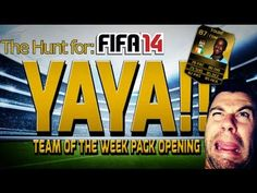 new TOTW Pack Opening - IF Yaya Toure ?!?! My best pack EVER - FIFA 14