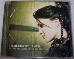 If I Had One Chance to Tell You Something CD Rebecca St. James Christian Gospel #Christian