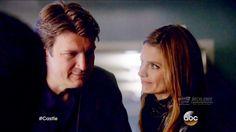 """Castle 8x19 Beckett Castle w Lanie & Alan Hospital Scene """"Dead Again""""..."""