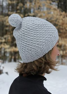 3d446885e86 A Touch of Frost Hat pattern by Laura Reinbach