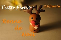 Tuto Fimo Noël : Le renne ! Xmas Crafts, Diy Crafts, Advent Calenders, Practical Gifts, Clay Tutorials, Diy Hacks, Clay Art, Homemade Gifts, Polymer Clay