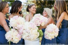 navy blue cream and champagne wedding - Google Search