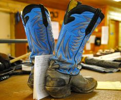 Paul Bond Boots in Nogales.  All handmade.