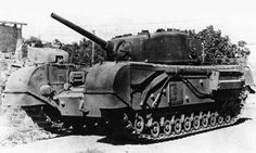 Infantry Tank Mark IV, Churchill IV armed with 75 mm cannon from tank Sherman and Grand
