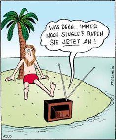 Immer noch Single? - Lustiges Cartoon