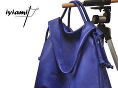 Large sac à main cuir sac bandoulière sac de par iyiamihandbags
