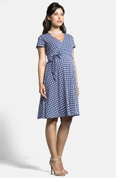 Nordstrom Dresses - Leota Cap Sleeve Maternity Dress available at Maternity Dress Outfits, Maternity Nursing Dress, Stylish Maternity, Maternity Wear, Maternity Fashion, Pregnancy Wardrobe, Pregnancy Outfits, Nordstrom Dresses, Ideias Fashion