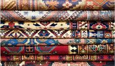 So many antique rugs!